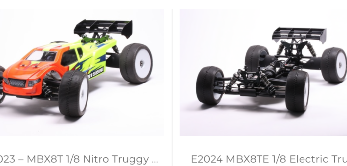 COMING SOON:  MBX8T & MBX8TE 1/8 Nitro and Electric Truggy Kits