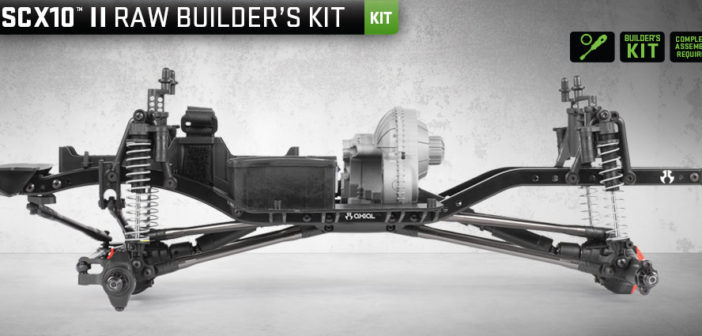 Axial SCX10 II Raw Builders Kit