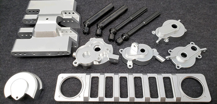 Redcat Racing Gen8 Hop Up Parts Released