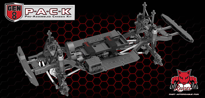 Redcat releases the Gen8 P-A-C-K (Pre-Assembled Chassis Kit)