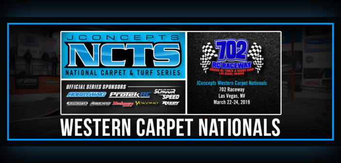 The JConcepts NCTS is set to kick-off March 22-24, 2019 at 702 Raceway in Las Vegas
