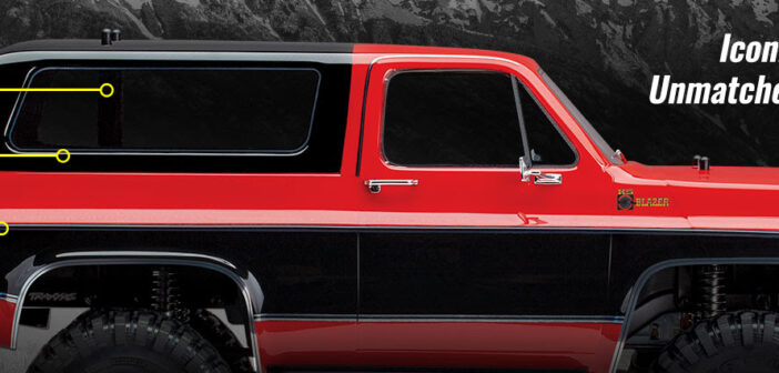 Traxxas brings us the classic Chevrolet K5 Blazer for the TRX-4