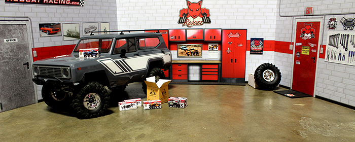 Redcat announces the release of free scale accessories.