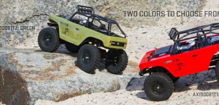 NEW: SCX24 Deadbolt 1/24th Scale Elec 4WD – RTR