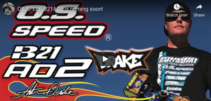 OS SPEED B21AD2 is coming soon!