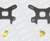 TEKNO RC – New NB48 2.0 Carbon Fiber Shock Towers and Brass Weights!