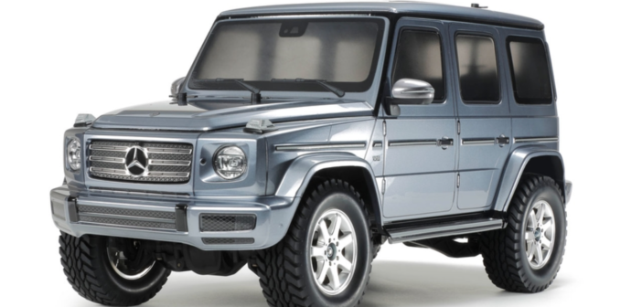 RC Mercedes-Benz G500 From Tamiya coming Soon