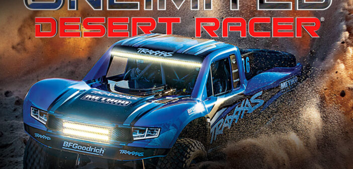 Traxxas Unlimited Desert Racer Now with New Graphics and Factory-Installed LED Light Kit