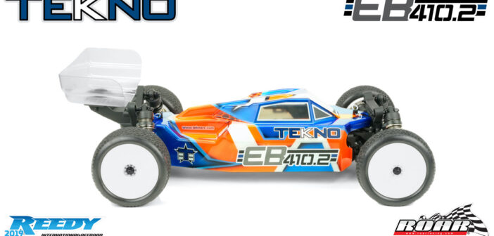 New EB410.2 1/10th 4WD Competition Electric Buggy Kit From Tekno RC!