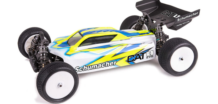 The Best Gets Better – Introducing the Schumacher CAT L1 Evo