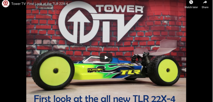 Team Losi Racing 22X-4 on Tower TV