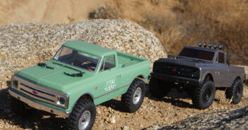 1/24 scale Axial® SCX24™ Jeep® Wrangler JLU CRC 4WD